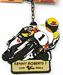 Legends, Kenny Roberts #1 MOTOGP KEY RING