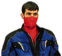 NEOPRENE LONG BIB REVERSIBLE FACE MASK (RED/BLUE)