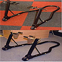 MOTO GP FRONT AND REAR TRACK & PADDOCK STAND COMBO SET