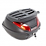 MOTORCYCLE/SCOOTER LUGGAGE BOX 42L WITH TOP RACK