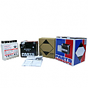 PIAGGIO/ VESPA ET2 50, FREE FL50, LIBERTY 50, LIBERTY S50, NRG MC2 DD50 EXTREME, STORM 50, TYPHOON 50 1993-2010 BATTERY AGM MAINTENANCE FREE 12V 3 AH 50A 1.3 KG 114.3 MM X 71.44 MM X 85.73 MM BLACK (YTX4L-BS)