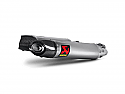 AKRAPOVIC APRILIA SHIVER 750 SLIP-ON KIT (TO OE HEADERS) - CARBON OUTLET SILENCERS (2010>)