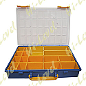 PLASTIC CONTAINER, TRAY 17 COMPARTMENTS 340MM x 250MM