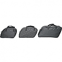 SADDLEMEN SADDLEBAG LINER UNIVERSAL TEXTILE SMOOTH BLACK - MEDIUM