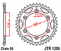 1306-40 REAR SPROCKET CARBON STEEL