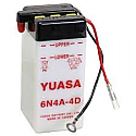 MOTORCYCLE BATTERY 6N4-A-4D BUDGET 6V