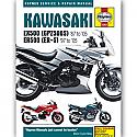 KAWASAKI EX500, KAWASAKI GPZ500S, KAWASAKI ER500 1987-2008 WORKSHOP MANUAL