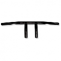 "EMGO HANDLEBAR 1"" T-BAR BLACK WITH 4"" END RISE"