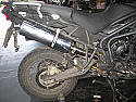 TRIUMPH TIGER 800 INC XC EXHAUST SILENCER ROAD LEGAL / SPORTS