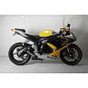 SUZUKI GSX-R600, SUZUKI GSX-R750 2008-2009 JARDINE SLIP-ON EXHAUST GP1