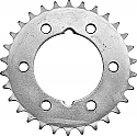 478-42 REAR SPROCKET KAWASAKI KXT250A 1984-1985, POLARIS 250 BIG BOSS 1989-1990