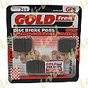 GOLDFREN GP5-200, FA369 SUPPLIED AS 4 PADS FOR 1 CALIPER (4 PCS)