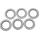 "SUPERTRAPP DIFFUSER DISC 4"" STAINLESS STEEL EXHAUST 6-PACK"