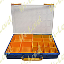 PLASTIC CONTAINER, TRAY 16 COMPARTMENTS 340MM x 250MM