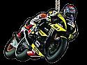 Colin Edwards #5 / Monster Yamaha Tech 3 KEY RING