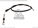 SUZUKI GZ125 MARUDER CLUTCH CABLE GEN No 58200-12F00