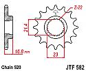 582-16 FRONT SPROCKET CARBON STEEL