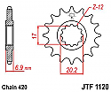 1120-12 FRONT SPROCKET CARBON STEEL