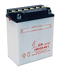 MOTORCYCLE BATTERY 12N12A-4A-1 BUDGET 12V