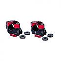 APRILIA RSV4 1000R, APRILIA TUONO V4 1100RR ABS, APRILIA TUONO V4 1100RR ABS FACTORY 2011-2017 GILLES TOOLING RISER HANDLEBAR 2D.GT BLACK/RED