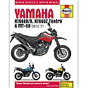 YAMAHA XT660X, YAMAHA XT660R, YAMAHA XT660Z TENERE, YAMAHA MT-03 2001-2011 WORKSHOP MANUAL