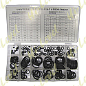 O-RING KIT ASSORTED IMPERIAL 225 PCS. ASSORTMENT IN TRAY