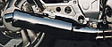 Honda NTV600, NT600V, Revere Predator Silencer Road IN POLISHED STAINLESS