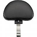 HARLEY DAVIDSON FLHR BACKREST RENEGADE™ FRONT VINYL PLAIN BLACK W/O STUDS
