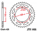 1466-46 REAR SPROCKET CARBON STEEL