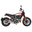 DUCATI SCRAMBLER 803 ABS CLASSIC, SCRAMBLER 803 ABS ICON, SCRAMBLER 803 ABS FULL THROTTLE 2015-2016 CLASSIC DUAL MUFFLER STAINLESS STEEL