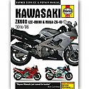 Kawasaki ZX600 Ninja ZX-6 Fours (90-06)  WORKSHOP MANUAL