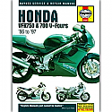 Honda VFR750 & 700 V-Fours (1986-1987) WORKSHOP MANUAL