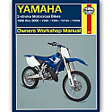 YAMAHA YZ80, YAMAHA YZ85, YAMAHA YZ125, YAMAHA YZ250 1986-2006 WORKSHOP MANUAL