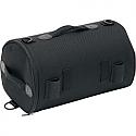 SADDLEMEN TOP ROLL BAG TEXTILE BLACK - R850