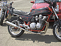 HONDA CB900FA, FB DOHC 78-83 4-1 SYSTEM ROAD POLISHED STAINLESS