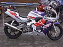 """HONDA CBR900 RR FIREBLADE RRT,RRX 1995-1998 RB SILENCER 4"""" ROUND POLISHED STAINLESS"""