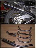 ZXR400 L KAWASAKI 1991-2003 4-1 EXHAUST SYSTEM ROAD LEGAL