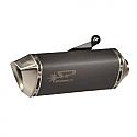DUCATI HYPERMOTARD 821, HYPERMOTARD 21 ABS, HYPERMOTARD 821SP ABS, STRADA 821 2013-2015 FORCE SLIP-ON MUFFLER DARK STYLE (S/S) STD MOUNT