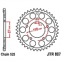 807-44 REAR SPROCKET CARBON STEEL