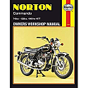Norton Commando 750 & 850 68-77 Haynes Manual