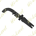 CABLE END THROTTLE BLACK PLASTIC TYPE WITH BEND & ADJUSTER