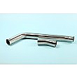 "HONDA CBR600 RR 2007-12 HEAVY DUTY DE-CAT EXHAUST TO SILENCER LINK PIPE 50.8mm (2"")"