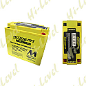 MOTOBATT BATTERY MB51814 FULLY SEALED ES18-12V, 51814, 51913 (4)