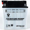 CB10A-A2 (YB10A-A2) HIGH PERFORMANCE 12V MOTORCYCLE BATTERY