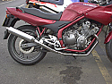 YAMAHA XJ600N, S, DIVERSION 4-2-1 SYSTEM ROAD IN POLISHED STAINLESS