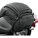 T-BAGS TAIL BAG RAVEN TEXTILE BLACK