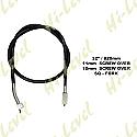 SUZUKI GP100, SUZUKI GS125 DRUM SPEEDO CABLE