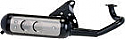 CPI POPCORN,HUSSAR,EURO-2 50cc TECHNIGAS BASIC EXHAUST