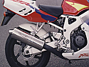 HONDA CBR900RR FIREBLADE RRP, RRR, RRS UPTO 95 SYSTEM ROAD POLISHED STAINLESS
