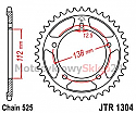 1304-42 REAR SPROCKET CARBON STEEL